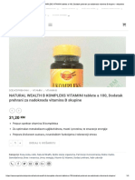 Natural Wealth b Kompleks Vitamini Tabl..