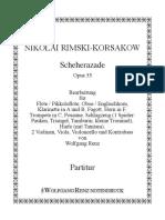 964 Partitur Scheherazade Op.35