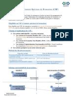 CSF OFPPT (Contrats Spéciaux de Formation)