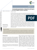 Environmental Transmission of Diarrheal Pathogens