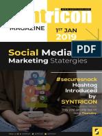 Social Media Marketing Magazine 2019 | Syntricon | Yellow Campaign