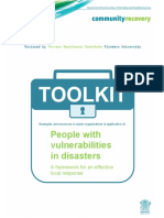 Supporting People With Vulnerabilities Toolkit