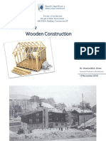 04 Lecture, Wooden Construction