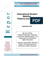 International Student Mobility - Patterns and Trends