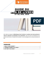 Guide Don de Livres 2017
