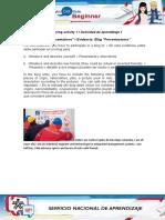 Evidence Blog Presentations