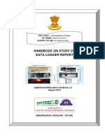 Handbook on Study of Data Logger Reports