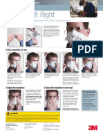 Compiled PDF of (various sources) respirator donning instruction sheets