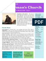 st germans newsletter - 10 march 2019