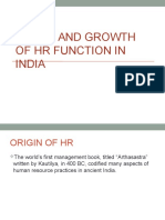 306395868 Evolution of HRM in India