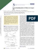 enantioselective trifluoromethylation