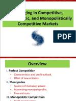 Managing Market