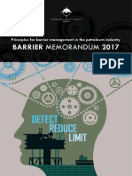 BARRIERS Memorandum 2017 Eng