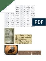 paleografia