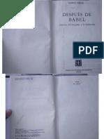 Steiner, G. - Después de Babel.pdf
