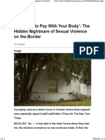 222_ the Hidden Nightmare of Sexual Violence on the Border)