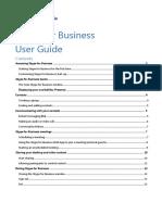 UniSA Skype for Business User Guide