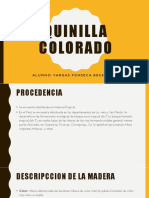 Quinilla, Bekel Vargas