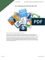 Aplicaciones Esenciales e Imprtantes Para Linux 2018-2019