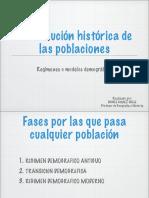 La Evolucin Histrica de Las Poblaciones