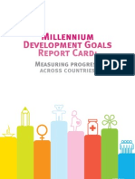 Millennium Development Goals. Report Card, Measuring Progress Across Countries - 2010 (UN)