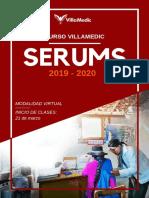Brochure SERUMS