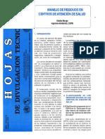 MANEJO DE RESIDUOS EN CENTROS DE ATENCION DE SALUD.pdf
