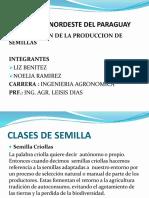 Produccion de Semilla