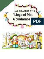 Unidad Didactica Nº 13 El Invierno