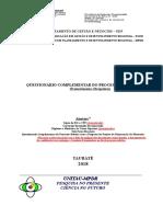 Formulrio Do Processo Seletivo MPDR 2019 1543261931
