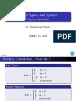 Discrete Convolution [Slides]