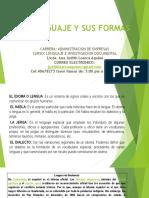 Lenguaje y Sus Formas Clase 23 Febrer0 2019 (1)