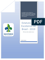 Minuta Estatuto Escoteiros do Brasil 2019