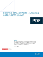 Deploy Oracle DB on Dell SAN