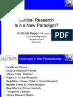Clinical Research ICRI