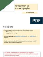 Chromatography Intro