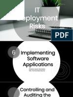 Group 6 - IT Deployment Risks Part 3