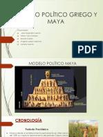 Modelo Politico Griego y Maya