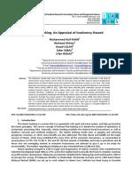 Journal 01 Islamic Banking an Appraisal of Insolvency Hazard (1)