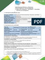 Guía de Actividades y Rúbrica de Evaluación - Actividad 6 - Consolidar Artículo de Investigación