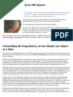 A History Of Ireland In 100 Objects - Fintan O'toole, Irish Times (2011) Irish Art Celtic Museum.pdf