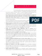 Etapas Básicas de Planificación de Un Programa de Fidelización Hotelero
