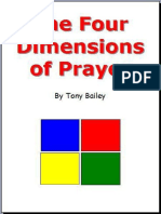 The Four Dimensions of Prayer