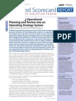 13 . Operational Strategy