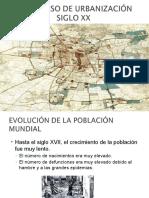 Ppt Proceso de Urbanizacion