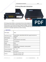 Vehicle Driving Recorder GP600L Introduction-V14