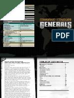 CNC Generals Manual 2015
