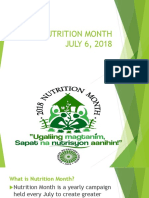 44th Nutrition Month