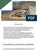 Aplicaciones de La Geología de Campo