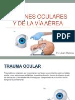 lesiones oculare y via area